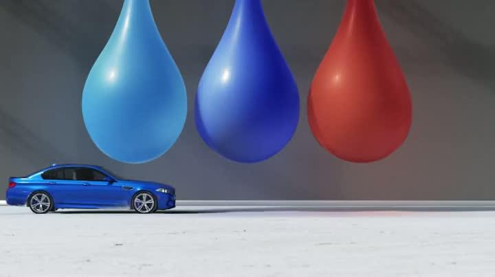 "BMW M5 "" Bullet "" High Speed Performance Art"