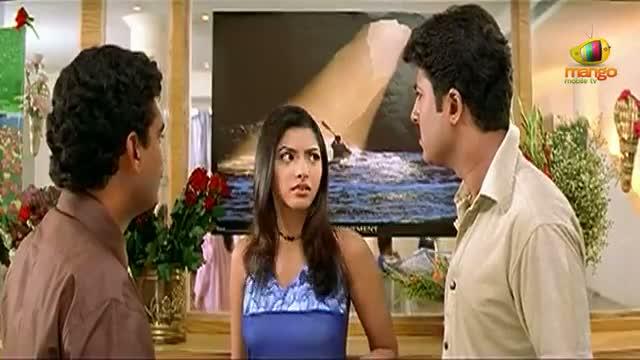 Chirunavvutho movie comedy scenes -Venu missunderstood by Shaheen - Venu, Shaheen - Telugu Cinema Movies