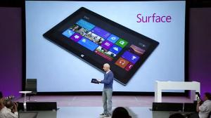 """Microsoft Introduces """"Surface"""""""