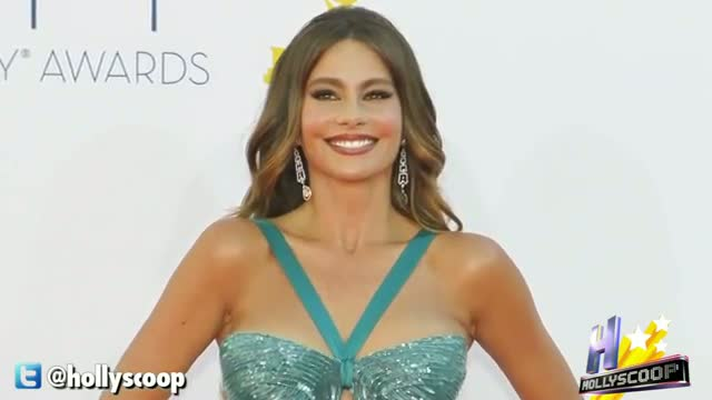 Sofia Vergara At The 64th Primetime Emmy Awards