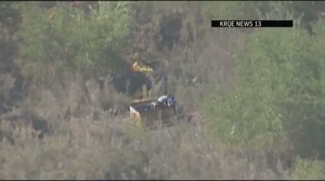 Raw Video - 3 Hurt in New Mexico Balloon Mishap