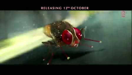 "Makkhi Official Trailer - Remake Of telugu Movie ""Eega"""