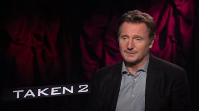 "Liam Neeson Packs a Punch in ""Taken 2"""