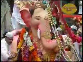 Lalbaugcha Raja Visarjan palkhi nighali Rajachi  - Ganpati Visarjan
