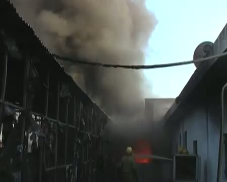 Fire in Plastic factory in Delhi; no casualty reported