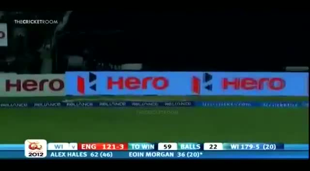 Eoin Morgan 5 Sixes vs West Indies Innings of 71(36) - ICC World T20 2012