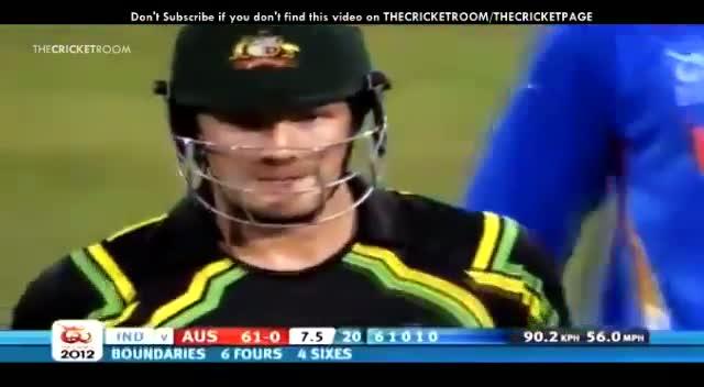 Shane Watson 7 Sixes vs India - ICC World T20 2012