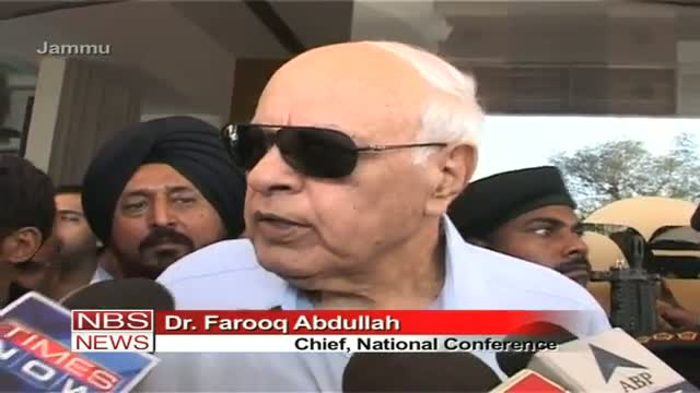 Farooq Abdullah Arvind welcome to form party