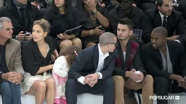 Jennifer Lopez Brings Emme to Her First Fashion Show - Chanel at Paris Fashion Week!