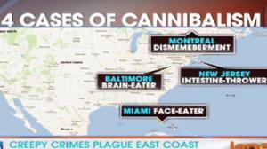 Creepy Crimes Plague East Coast