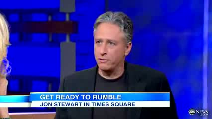 Jon Stewart on Upcoming Debate With Bill O'Reilly; 2012 Presidential Debate Parody For Charity