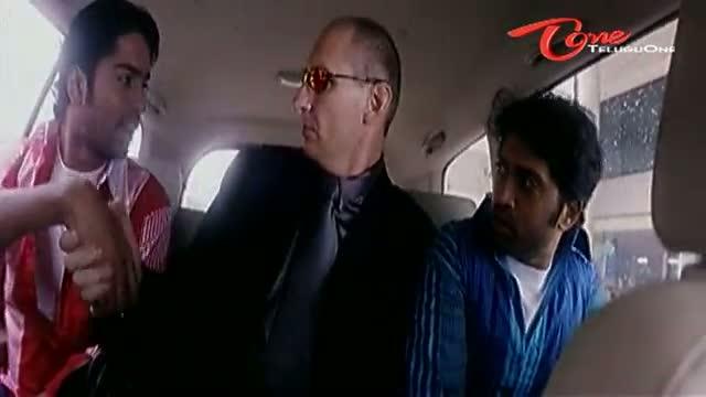 Telugu Comedy Scene From Party Movie - Allari Naresh Fools Bill Gates Brother - Telugu Cinema Movies
