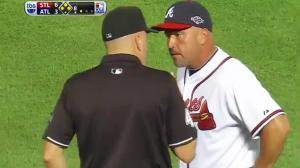 Braves Fans Turn Field Into Landfill After Horrible Call