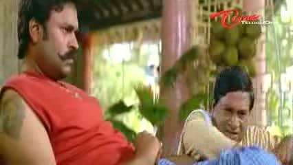 Telugu Comedy Scene From Kouravudu Movie - Nagendra Babu's Hilarious Punishment To M S Narayana - Telugu Cinema Movies