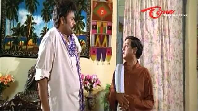 Telugu Comedy Scene From Kouravudu Movie - Hilarious Punishment To M S Narayana - Telugu Cinema Movies