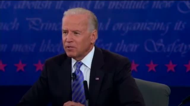 Ryan, Biden Spar on Middle Class Taxes
