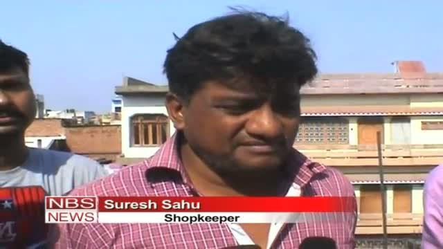 Major fire broke out in Jhansi footwear market