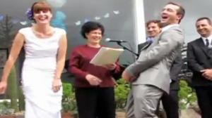 Bride Likes Her Grooms To Be Hard