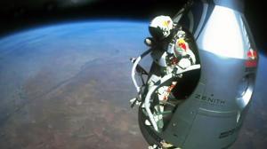 Highlight Video of Felix Baumgartners Historic Jump
