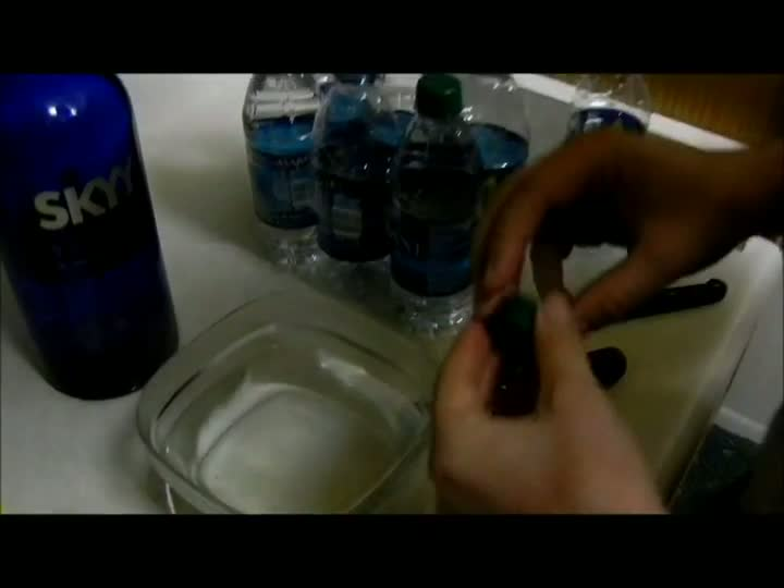How to Put Liquor in Sealed Water Bottles