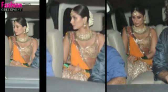 Saif Ali Khan & Kareena Kapoor's SANGEET CEREMONY!!