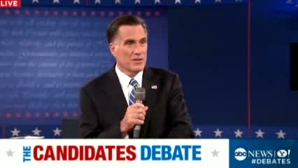 2nd Presidential Debate 2012: Romney Says U.S. 'Doesn't Have to Settle' With Obama's First Term