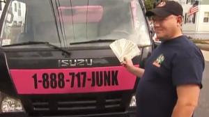 Junk Dealer Returns $114,000
