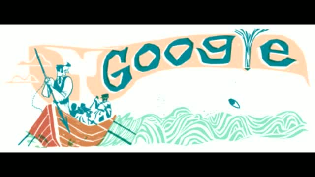 Herman Melville Google doodle marks 161st anniversary of Moby-Dick