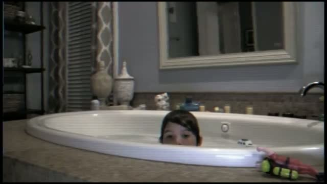 Paranormal Activity 4 Official Clip - Tub