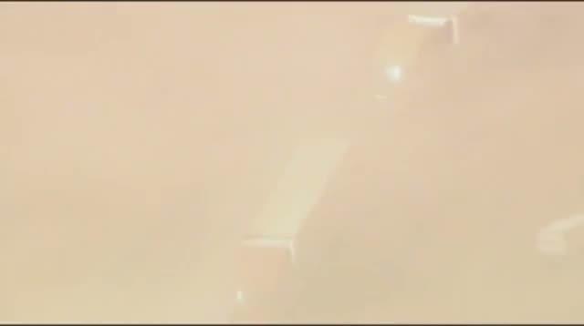 Raw - Dust Storm Shuts Down Interstate in Okla.
