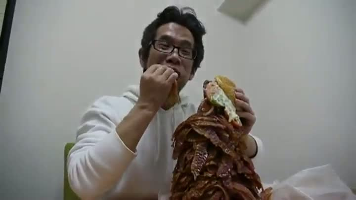 Would You Eat This Burger with Over a Thousand Strips of Bacon?