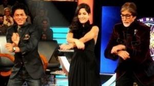 Shahrukh, Katrina & Amitabh 'Gangnam Style' dance on KBC 6