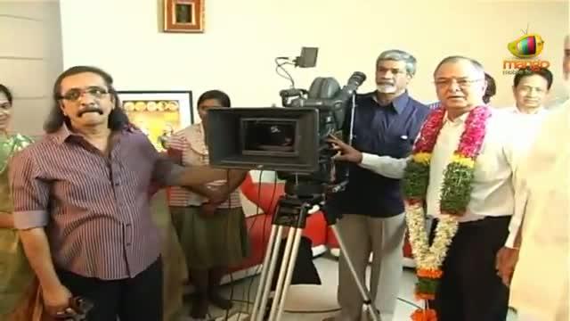 Intinta Annamayya Movie Opening - K Raghavendra Rao, Ananya, Revanth - Tanish, Naresh - Telugu Cinema Movies