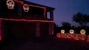 Amazing Halloween Light Show