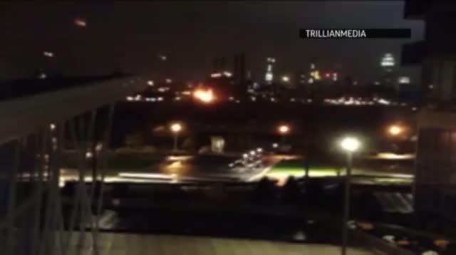 Raw - New York Power Station Explosion