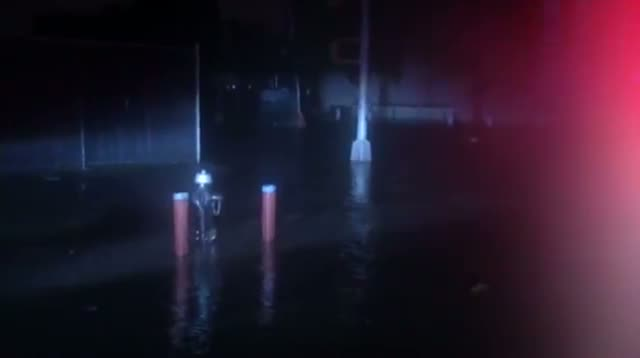Raw - Power Out, Flooding in New York