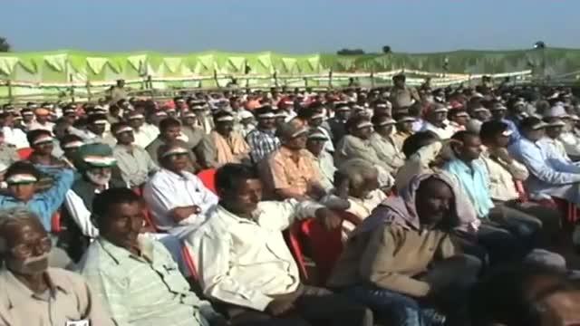 Rahul Gandhi addresses rally at Bilaspur