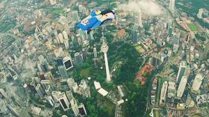 Wingsuit Flying in Malaysia - Red Bull Team