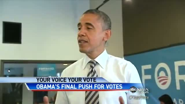 2012 Presidential Election Betweeen Barack Obama, Mitt Romney: Obama Expects a Long Night