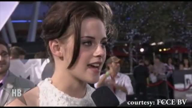 Robert Pattinson and Kristen Stewart's FIRST PUBLIC Exclusive interview