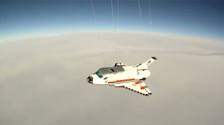 Lego Space Shuttle Actually Sent To Space