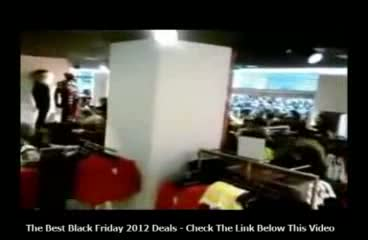 Black Friday 2012 Madness.