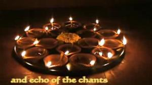 Diwali Celebrations With Diyas
