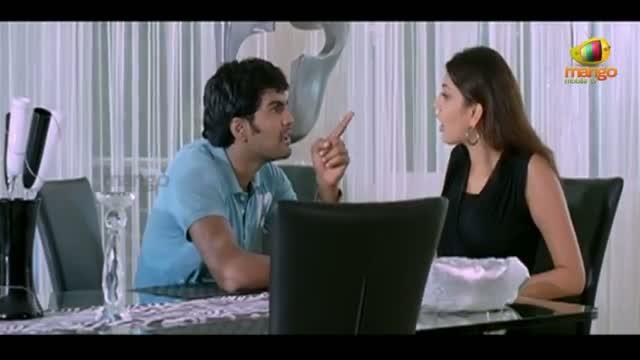 Binami Velakotlu Movie Scenes - Vinay blackmailing Kajal Aggarwa - Kajal Aggarwal, Vinay - Telugu Cinema Movies