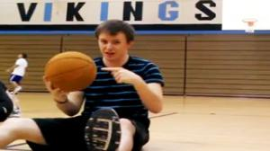Basketball Trick Shot to the Face