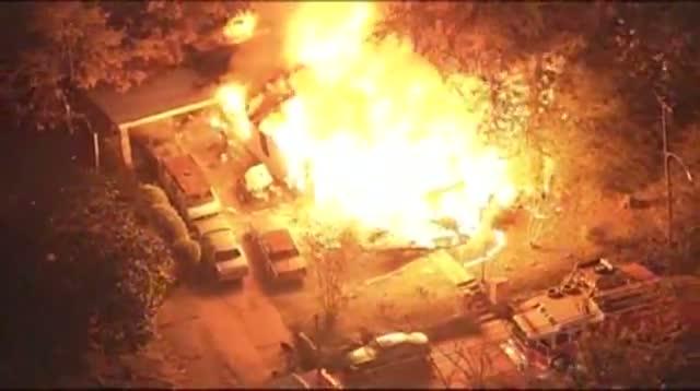 Raw: Plane Crashes Into Jackson, Miss. Home