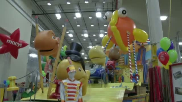Raw: Macy's Parade Unveils Six New Floats