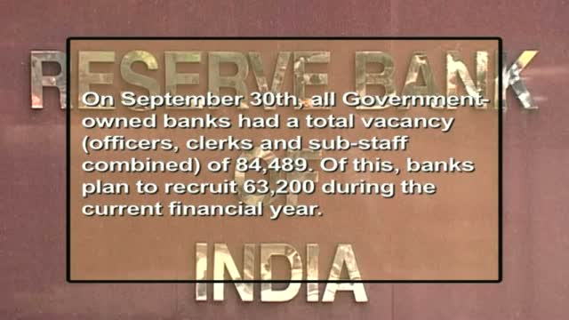 Public sector banks to offer 63,000 jobs this financial year
