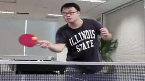 The Most Epic Table Tennis Battle In History