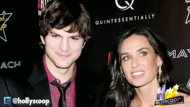 Demi Moore & Ashton Kutcher Still Working Together